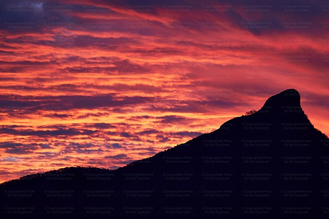 clouds, dramatic, mt. warning, northern nsw, red, stock photos, sunrise, sunset, tweed valley, vibrant imaging, australia